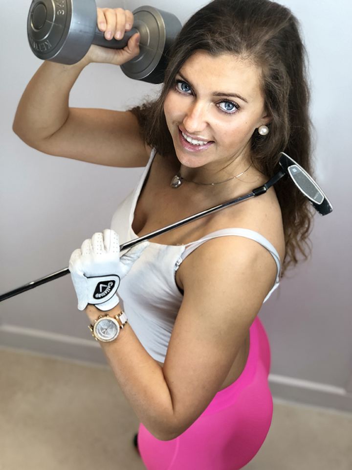 Kasia Ferenczuk golfing performance golfer golf fitness tpi ireland yoga pilates galway instructor