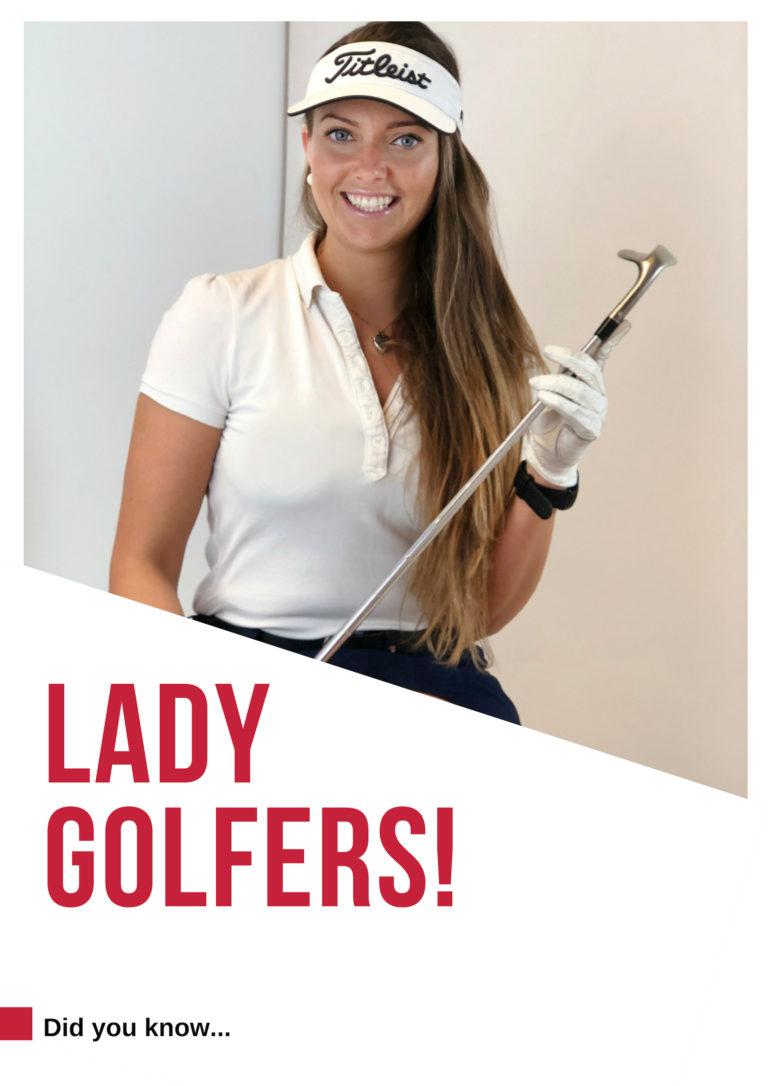 golf Ireland woman galway