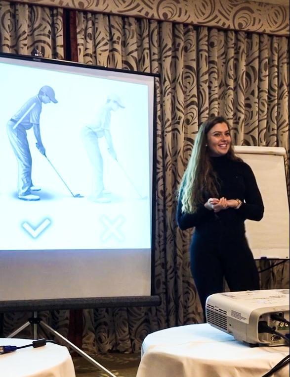 golf seminars kasia ferenczuk
